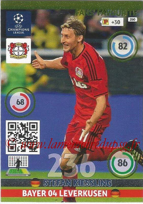 2014-15 - Adrenalyn XL champions League N° 260 - Stefan KIESSLING (Bayer 04 Leverkusen) ( Fans' Favourite)