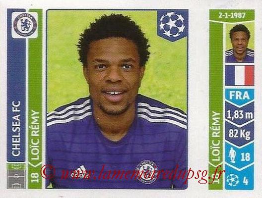 2014-15 - Panini Champions League N° 505 - Loic REMY (Chelsea FC)