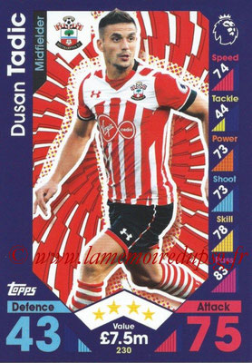 2016-17 - Topps Match Attax Premier League - N° 230