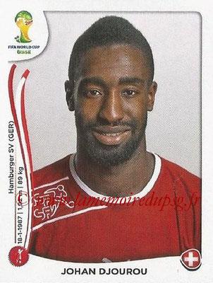 2014 - Panini FIFA World Cup Brazil Stickers - N° 344 - Johan DJOUROU (Suisse)