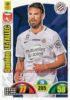 2018-19 - Panini Adrenalyn XL Ligue 1 - N° 186 bis - Damien LE TALLEC (Montpellier)