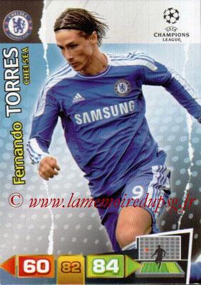 2011-12 - Panini Champions League Cards - N° 092 - Fernando TORRES (Chelsea FC)