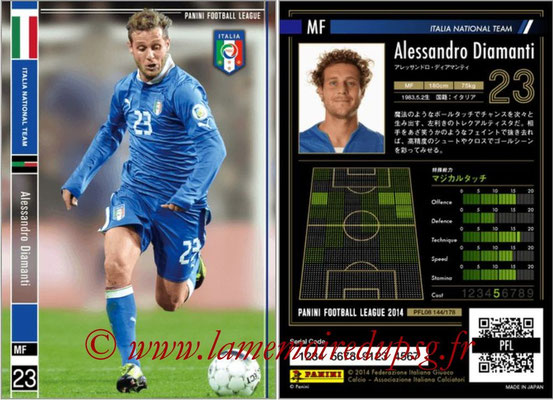 Panini Football League 2014 - PFL08 - N° 144 - Alessandro DIAMANTI (Italie)