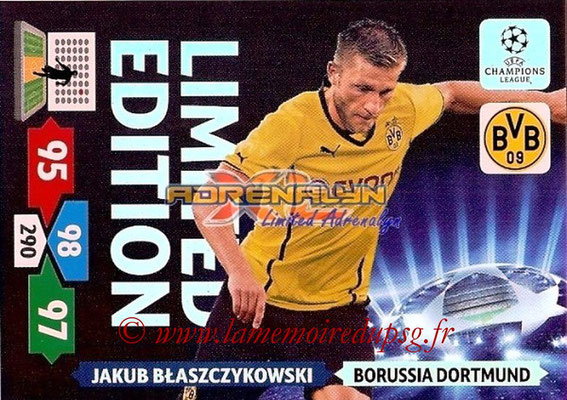 2013-14 - Adrenalyn XL champions League N° LE22 - Jacob BLASZCZYKOWSKI (Borussia Dortmund) (Limited Edition)