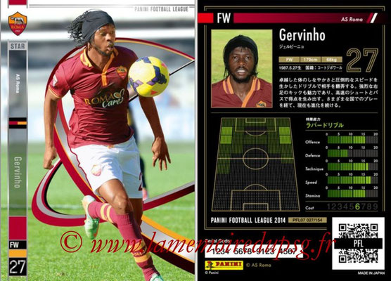Panini Football League 2014 - PFL07 - N° 027 - GERVINHO (AS Roma) (Star)