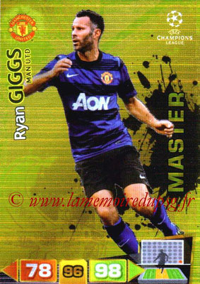 2011-12 - Panini Champions League Cards - N° 342 - Ryan GIGGS (Manchester United FC) (Master)