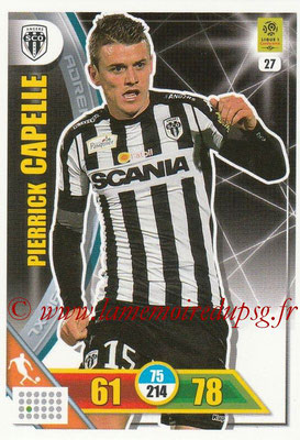 2017-18 - Panini Adrenalyn XL Ligue 1 - N° 027 - Pierrick CAPELLE (Angers)