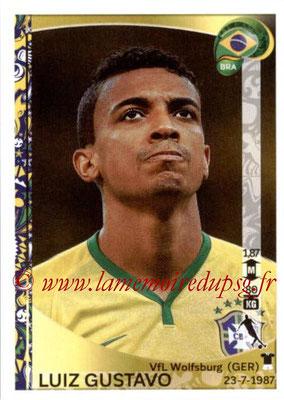 Panini Copa America Centenario USA 2016 Stickers - N° 123 - Luiz GUSTAVO (Brésil)