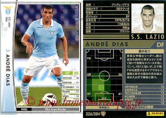 2012-13 - WCCF - N° 226 - André DIAS (SS Lazio)