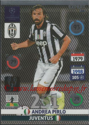 2014-15 - Adrenalyn XL champions League N° 338 - Andrea PIRLO (Juventus) (Expert)