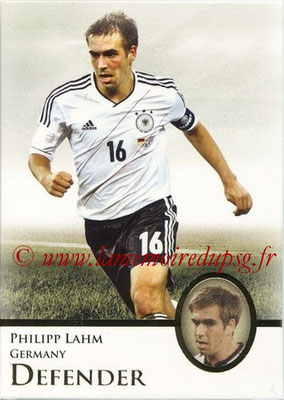 2013 - Futera World Football Unique - N° 020 - Philipp LAHM (Allemagne) (Defender)