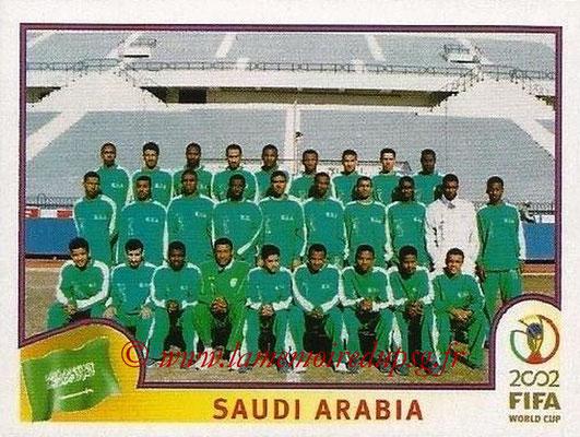 2002 - Panini FIFA World Cup Stickers - N° 331 - Equipe Arabie Saoudite