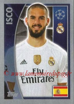 2015-16 - Topps UEFA Champions League Stickers - N° 040 - ISCO (Real Madrid CF)