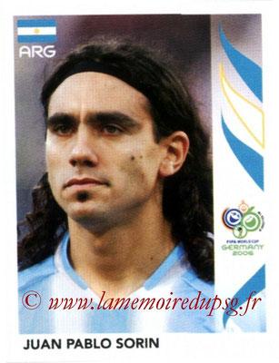 N° 182 - Juan Pablo SORIN (2006, Argentine > 2003-04)