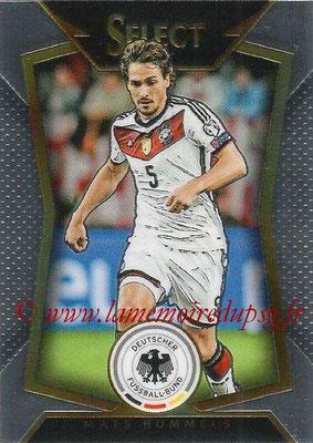 2015 - Panini Select Soccer - N° 038 - Mats HUMMELS (Allemagne)