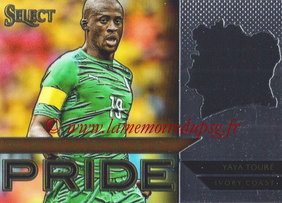 2015 - Panini Select Soccer - N° NP46 - Yaya TOURE (Côte d Ivoire) (National Pride)