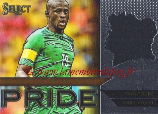 2015 - Panini Select Soccer - N° NP46 - Yaya TOURE (Côte d Ivoire) (National Pride)