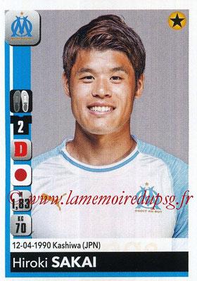 2018-19 - Panini Ligue 1 Stickers - N° 208 - Hiroki SAKAI (Marseille)