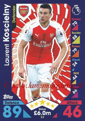 2016-17 - Topps Match Attax Premier League - N° 023