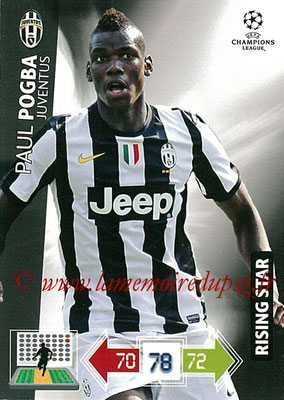 2012-13 - Adrenalyn XL champions League N° 113 - Paul POGBA (Juventus FC) (Rising Star)
