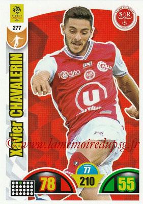 2018-19 - Panini Adrenalyn XL Ligue 1 - N° 277 - Xavier CHAVALERIN (Reims)