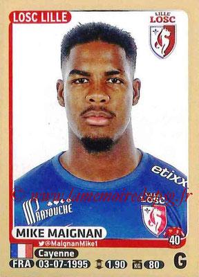 N° 146 - Mike MAIGNAN (2012-15, PSG (CFA) > 2015-16, Lille OSC)
