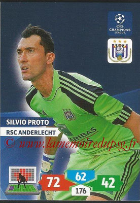 2013-14 - Adrenalyn XL champions League N° 037 - Silvio PROTO (RSC Anderlecht)