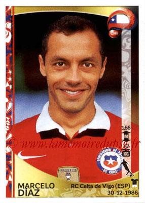 Panini Copa America Centenario USA 2016 Stickers - N° 338 - Marcelo  DIAZ (Chili)