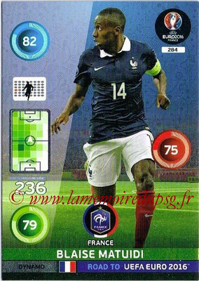 Panini Road to Euro 2016 Cards - N° 284 - Blaise MATUIDI (France) (Dynamo)