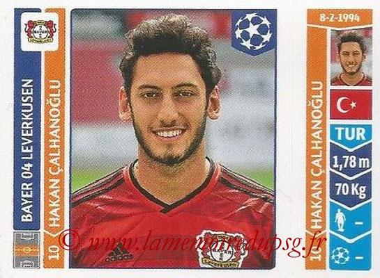 2014-15 - Panini Champions League N° 225 - Hakan CALHANOGLU (Bayer 04 Leverkusen)