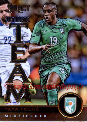 2015 - Panini Select Soccer - N° UT14 - Yaya TOURE (Côte d'Ivoire) (Ultimate Team)