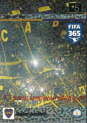 2015-16 - Panini Adrenalyn XL FIFA 365 - N° 300 - Boca Juniors (12th Man)