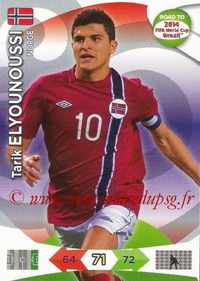 2014 - Panini Road to FIFA World Cup Brazil Adrenalyn XL - N° 147 - Tarik ELYOUNOUSSI (Norvège)