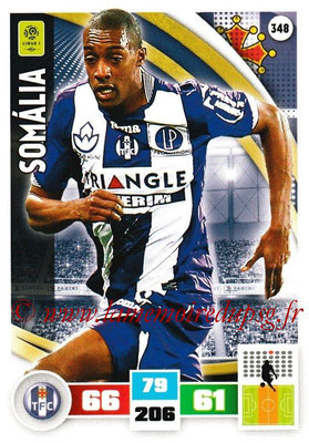 2016-17 - Panini Adrenalyn XL Ligue 1 - N° 348 - SOMALIA (Toulouse)