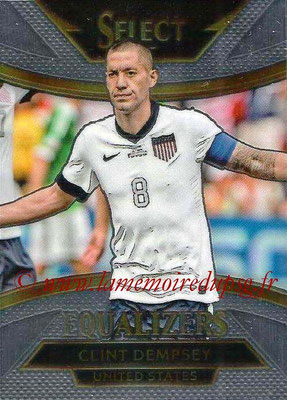 2015 - Panini Select Soccer - N° E19 - Clint DEMPSEY (États Unis) (Equalizers)