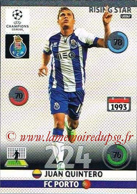 2014-15 - Adrenalyn XL champions League Update edition N° UE067 - Juan QUINTERO (FC Porto) (Rising Star)