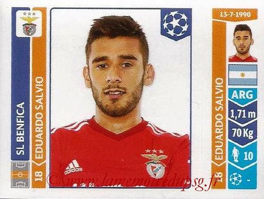 2014-15 - Panini Champions League N° 189 - Eduardo SALVIO (SL Benfica)