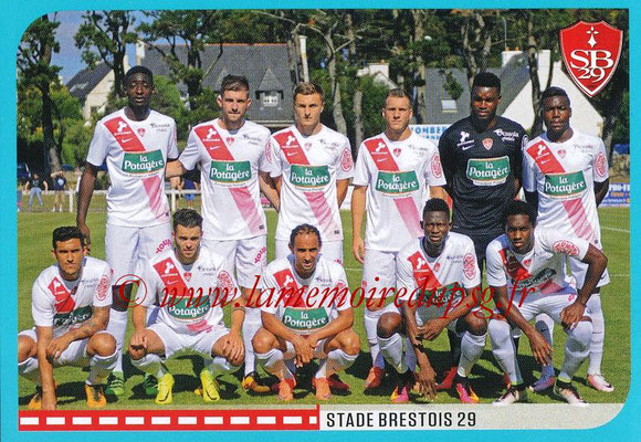 2016-17 - Panini Ligue 1 Stickers - N° 864 - Equipe Brest