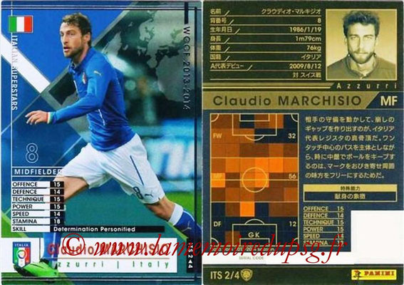 2013-14 - WCCF - N° ITS2 - Claudio MARCHISIO (Italie) (Italian Superstar)
