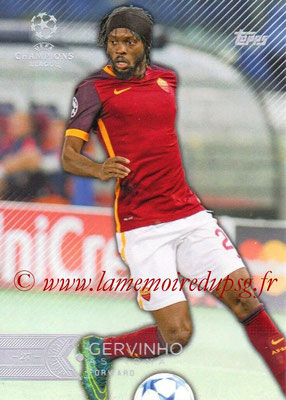 2015-16 - Topps UEFA Champions League Showcase Soccer - N° 122 - GERVINHO (AS Roma)