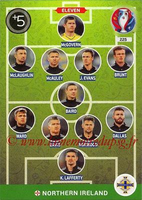 Panini Euro 2016 Cards - N° 225 - Équipe Type de Irlande du Nord
