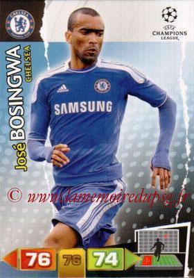 2011-12 - Panini Champions League Cards - N° 083 - Jose BOSINGWA (Chelsea FC)