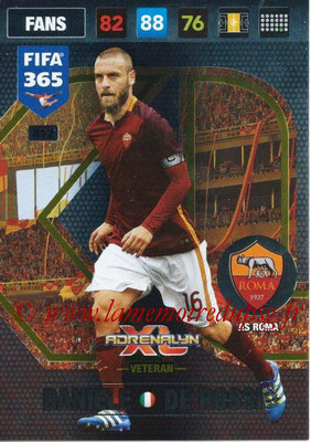 2016-17 - Panini Adrenalyn XL FIFA 365 - N° 412 - Daniele DE ROSSI (AS Roma) (Veteran)