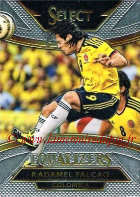 2015 - Panini Select Soccer - N° E06 - Radamel FALCAO (Colombie) (Equalizers)