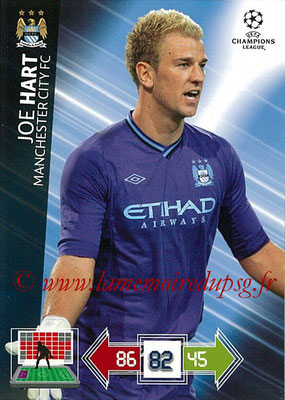 2012-13 - Adrenalyn XL champions League N° 121 - Joe HART (Manchester City FC)