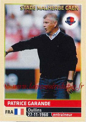 2014-15 - Panini Ligue 1 Stickers - N° 052 - Patrice GARANDE (SM Caen) (Entraîneur)