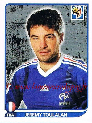 2010 - Panini FIFA World Cup South Africa Stickers - N° 096 - Jeremy TOULALAN (France)