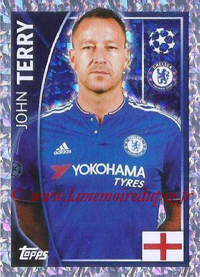 2015-16 - Topps UEFA Champions League Stickers - N° 453 - John TERRY (Chelsea FC)