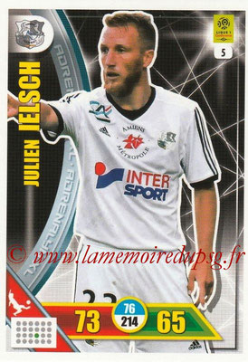 2017-18 - Panini Adrenalyn XL Ligue 1 - N° 005 - Julien IELSCH (Amiens)