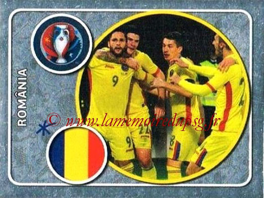 Panini Euro 2016 Stickers - N° 011 - Équipe de Roumanie